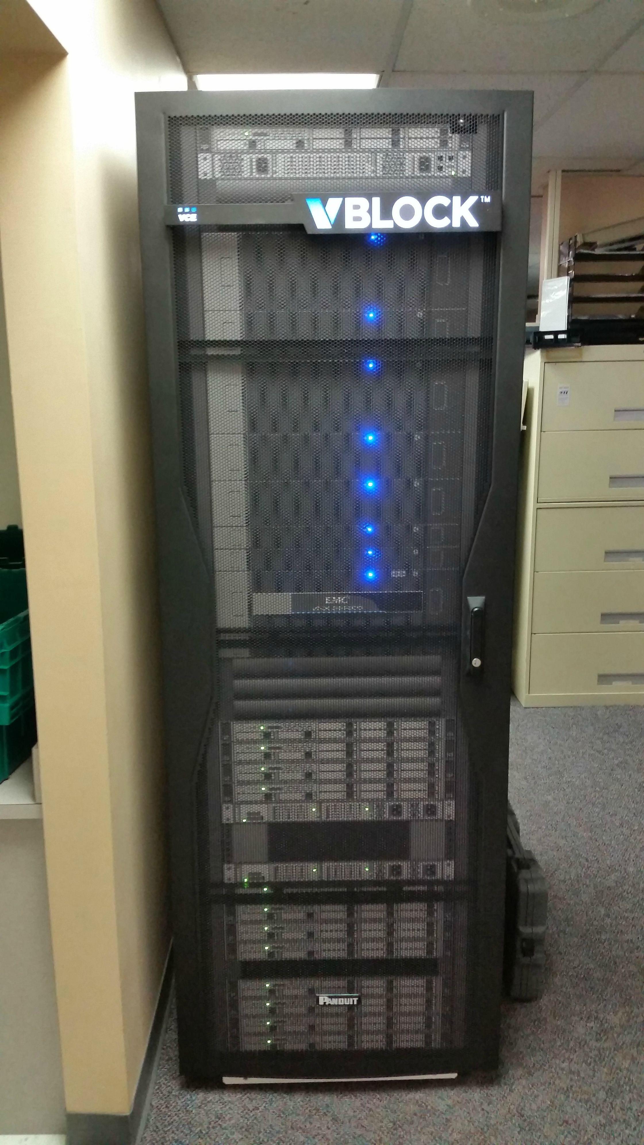 Work's New Server