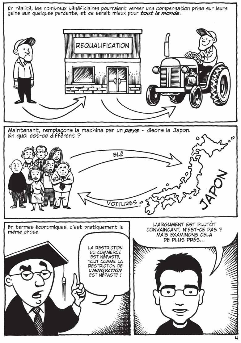 Le partenaria transpacifique et le libre-échange