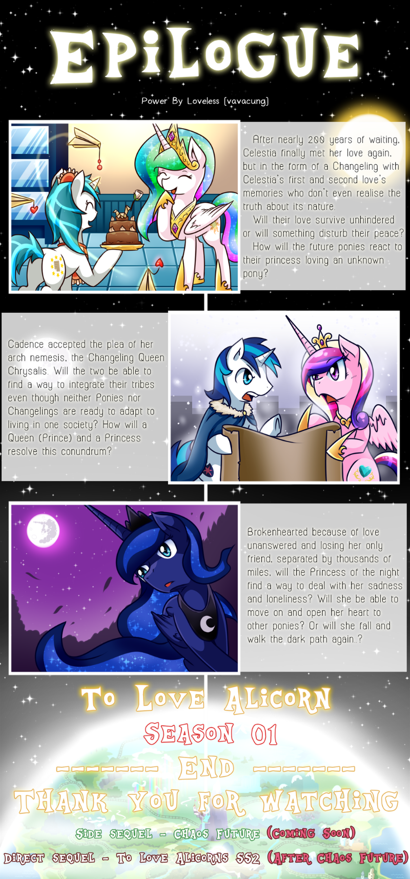 To Love Alicorn Part Epilogue (Season 1)