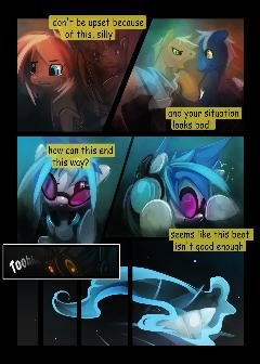 Dj-pon3 comic (Part 6)