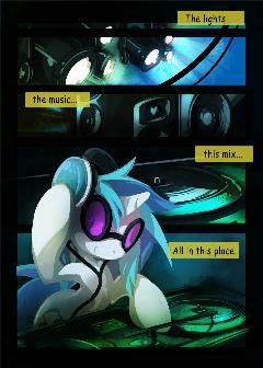 Dj-pon3 comic (Part 1)