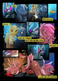 Dj-pon3 comic (Part 5)