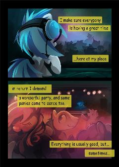 Dj-pon3 comic (Part 2)