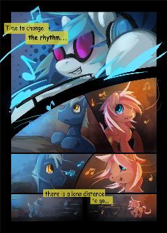 Dj-pon3 comic (Part 4)
