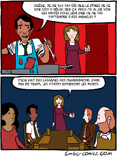 les lasagnes aux champigons