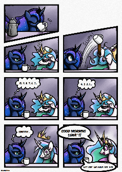 [Comic] A Beverage of Gods