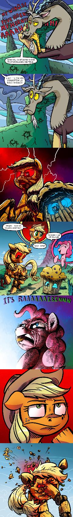 The Strength of Earth Ponies