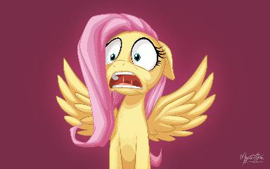 Fluttershy's Reaction