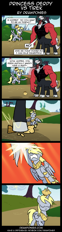 Princess Derpy Vs Tirek