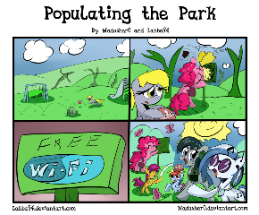 Populating the Park - Art Trade