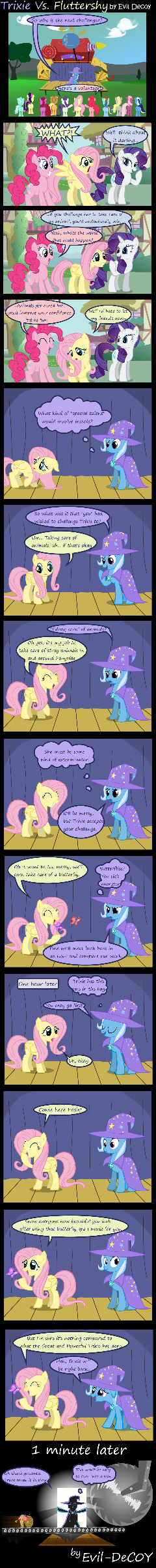 Trixie Vs. Fluttershy