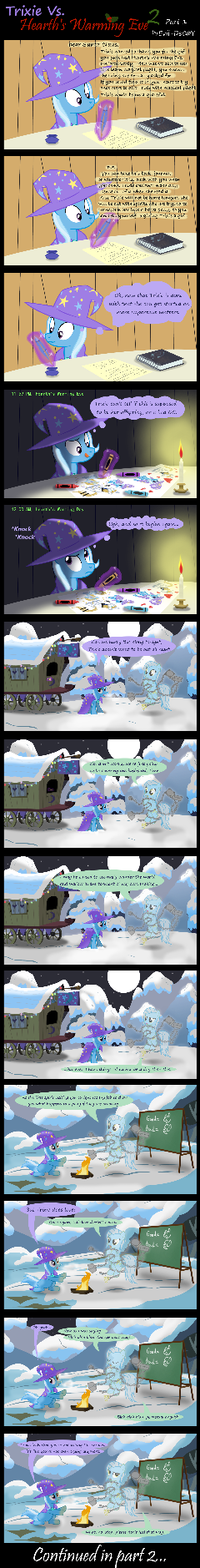 Trixie Vs. Hearth's Warming Eve 2 (part 1)