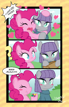 Maud And Pinkie (Comic)