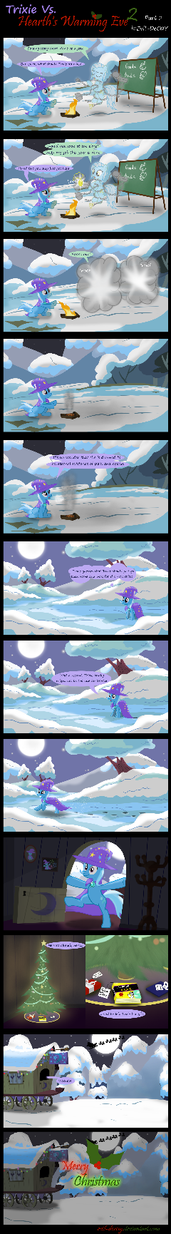 Trixie Vs. Hearth's Warming Eve 2 (part 2)