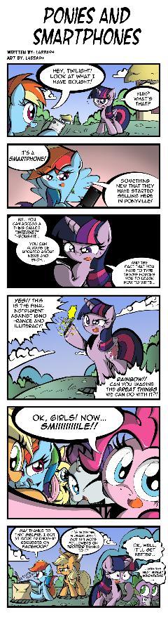 Ponies and Smartphones