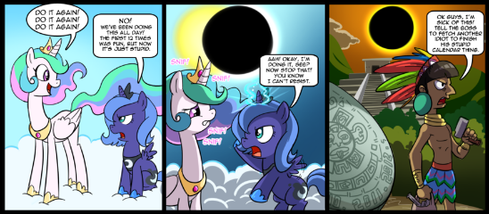 Luna and celestia adventures