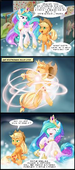 Ascension of Applejack