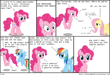 Ask Professor Pinkie Pie