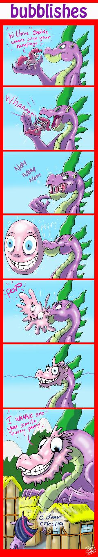 Bubblishes comic