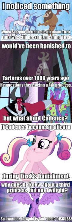 How Old Is Cadence?