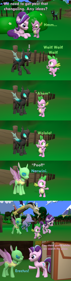 [SFM] One way to get past a changeling