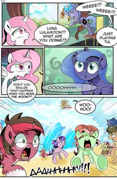 The Moon Game - MLP Comic