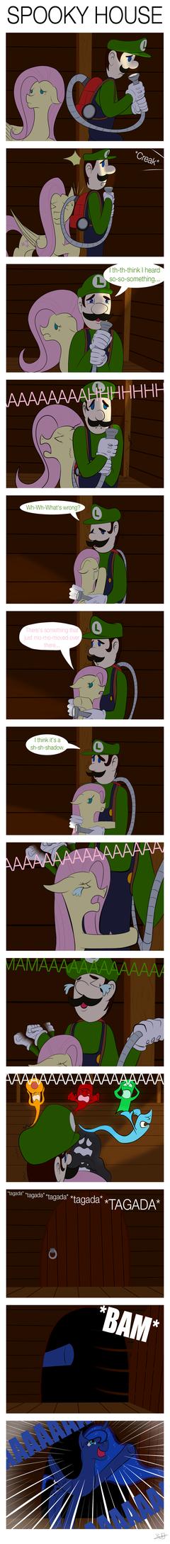 [Comic] Spooky House