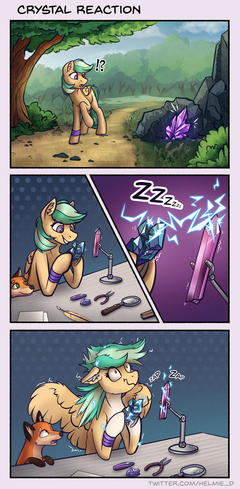 Comic - Crystal Reaction