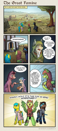 Comic - The Great Famine