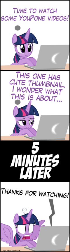 Twilight Discovers the Internet