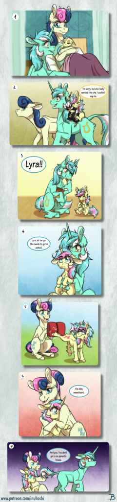MLP:YL - The Lyra/Bon Bon Family