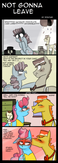 My Little Pony: Not Gonna Leave