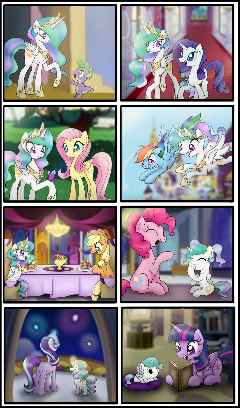 Celestia's Regression - [Requested by Davaba19]