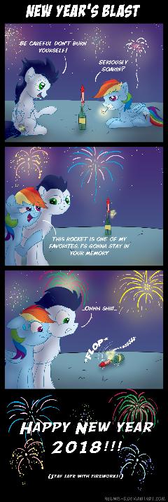 New Year's Blast