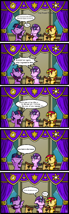 Pony Puppet Theater #10 Mandatory Attendance