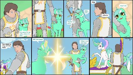 Sun-Servant - Meets Crowd - 02 - comic