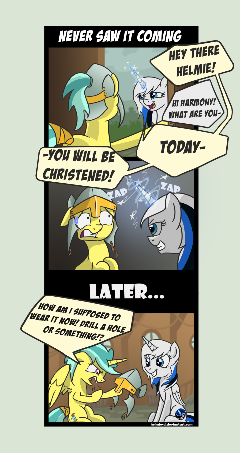 Commission - Comic - Never Saw it Coming