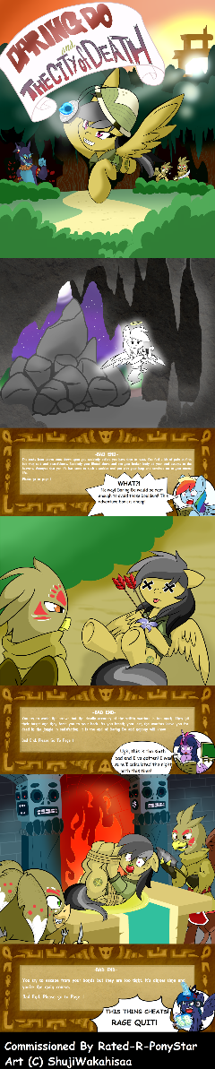Daring Do Choose Your Own Adventure MLP (Com) Pt1