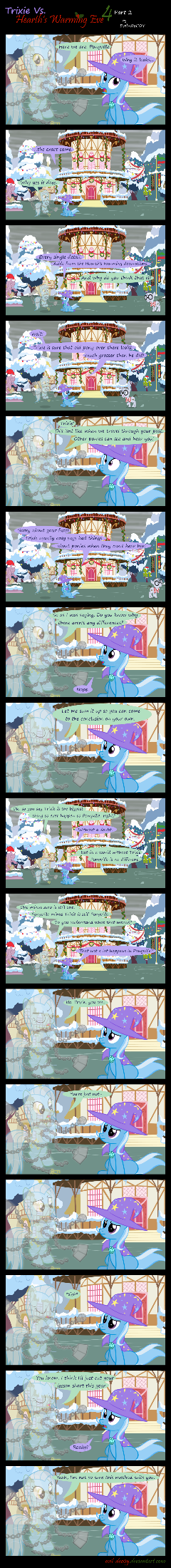 Trixie Vs. Hearth's Warming Eve 4 (part 2)