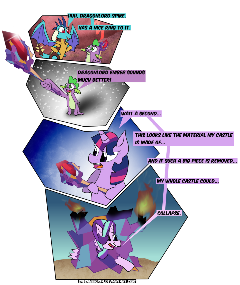 Castle Of Glass [MLP COMIC]
