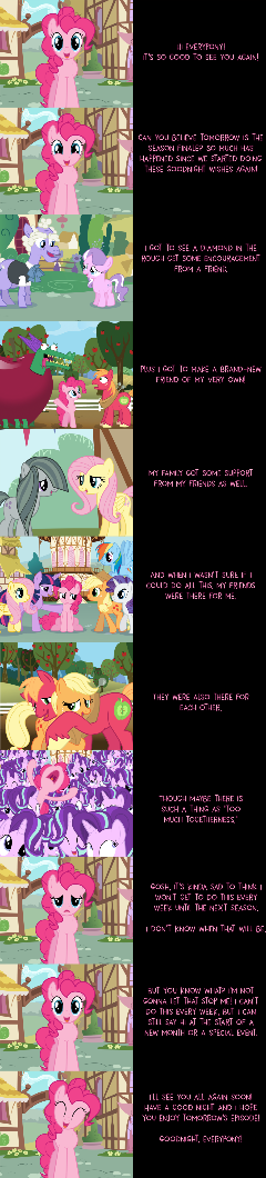 Pinkie Pie Says Goodnight: A Look Back