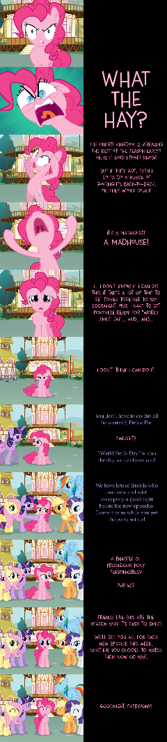 Pinkie Pie Says Goodnight: Mad Rush