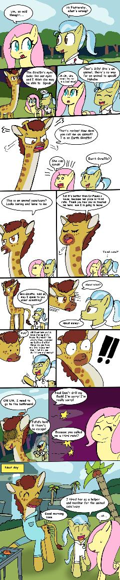 After Fluttershy leans In