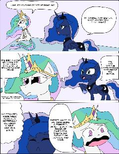 MLP Comic 47: Celestia's Thoughts