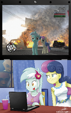 .:Favorite Game:. (with Lyra n' BonBon)