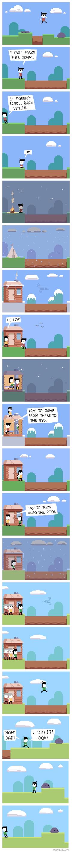 Une histoire de jump