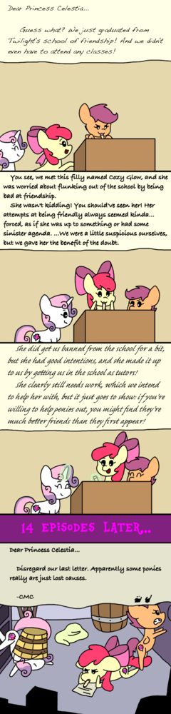 Letters to Celestia: Marks for Effort
