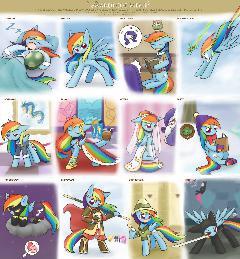 Clothe meme RainbowDash
