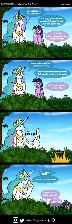 COM - Flying Is For The Birds (COMIC)