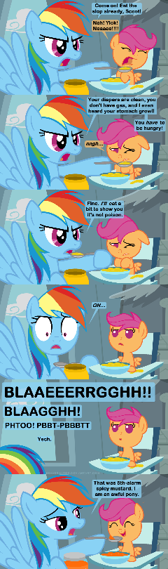 Feeding Scootaloo